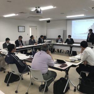 Kickoff meeting held at Ehime University